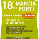 18° MARCIA DEI FORTI - 3 luglio 2016