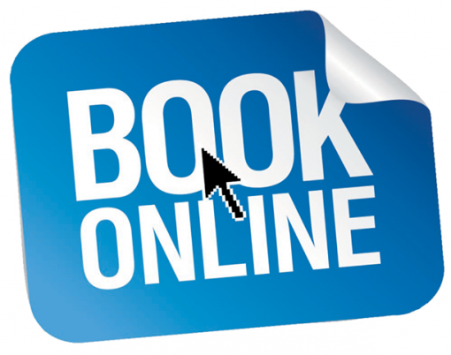 BOOK NOW ONLINE!