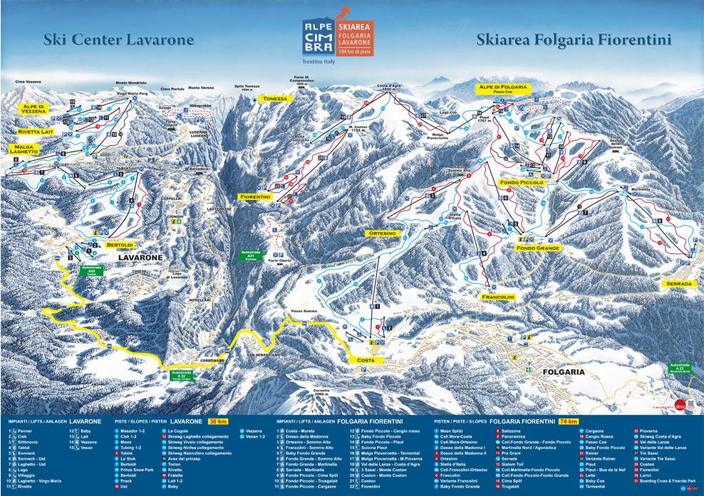 Aggiornamento apertura impianti risalita Folgariaski del 25.03.17: