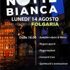 Lunedì 14 agosto: NOTTE BIANCA a Folgaria